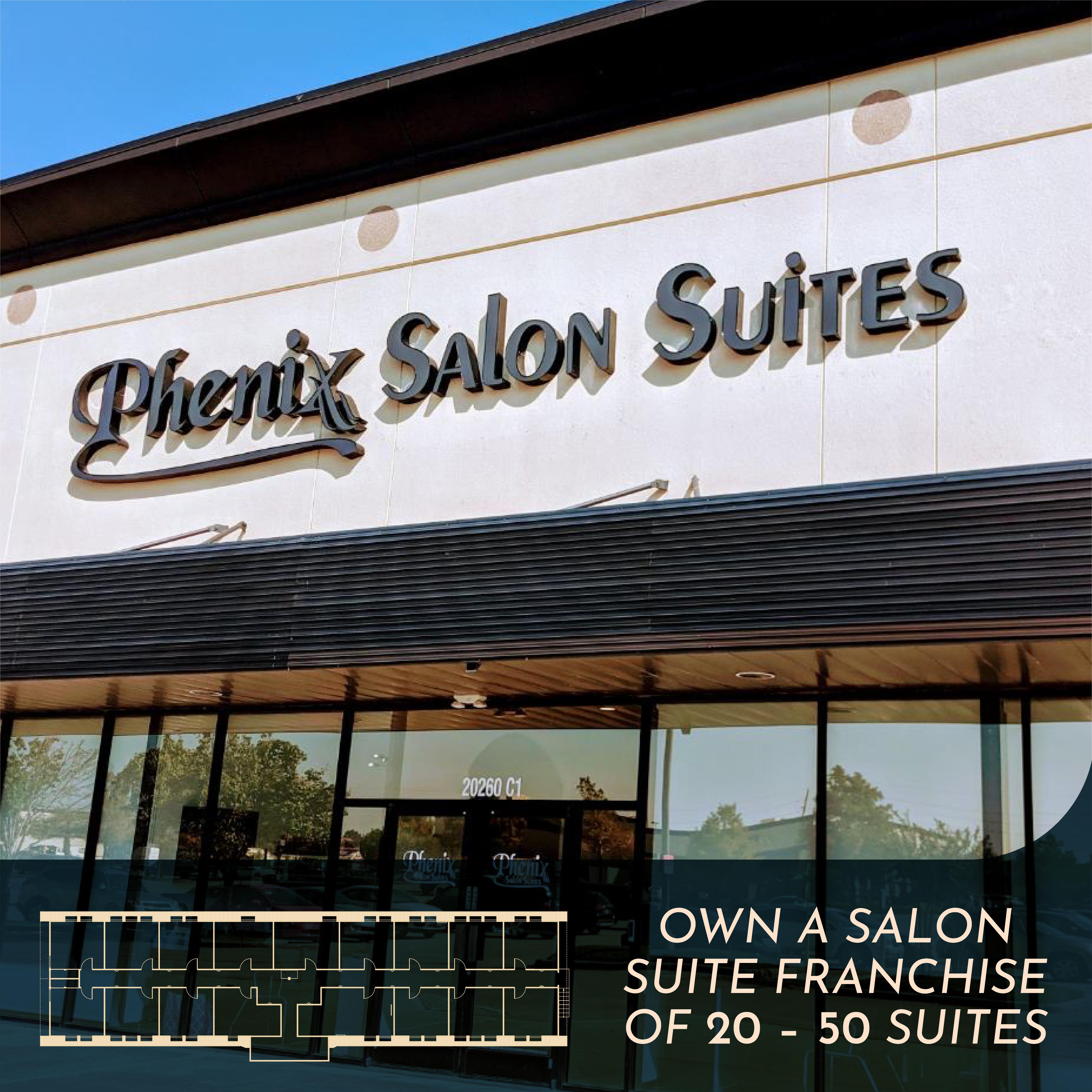 Own a Phenix Salon Suite franchise
