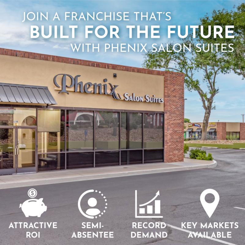 Phenix Salon Suites is built for the future.